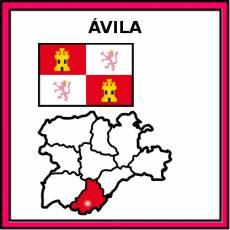 ÁVILA - Pictograma (color)