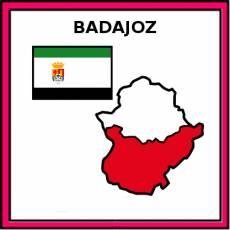 BADAJOZ - Pictograma (color)