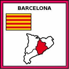 BARCELONA - Pictograma (color)