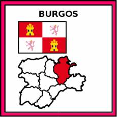 BURGOS - Pictograma (color)