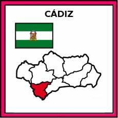 CÁDIZ - Pictograma (color)