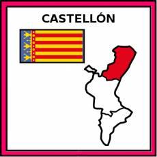 CASTELLÓN - Pictograma (color)
