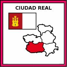 CIUDAD REAL - Pictograma (color)