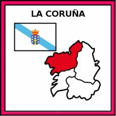 LA CORUÑA - Pictograma (color)
