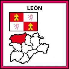 LEÓN (PROVINCIA) - Pictograma (color)