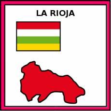 LA RIOJA (PROVINCIA) - Pictograma (color)
