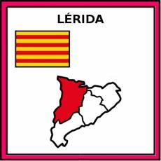 LÉRIDA - Pictograma (color)