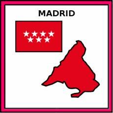 MADRID (PROVINCIA) - Pictograma (color)