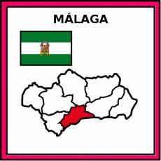 MÁLAGA - Pictograma (color)