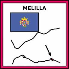 MELILLA - Pictograma (color)