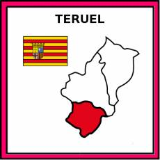 TERUEL - Pictograma (color)