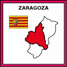 ZARAGOZA - Pictograma (color)