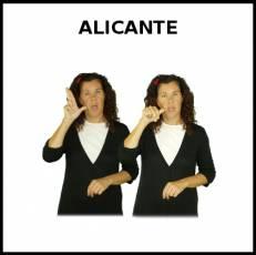 ALICANTE - Signo