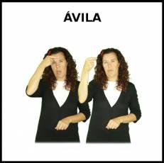 ÁVILA - Signo