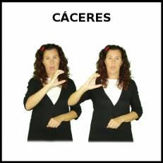 CÁCERES - Signo