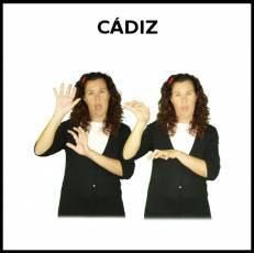CÁDIZ - Signo