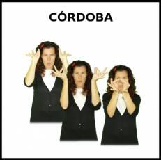 CÓRDOBA - Signo