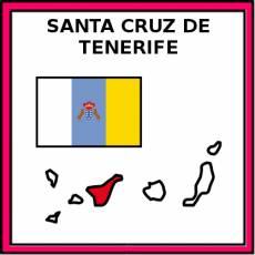 SANTA CRUZ DE TENERIFE - Pictograma (color)