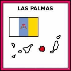 LAS PALMAS - Pictograma (color)