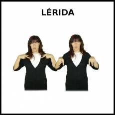 LÉRIDA - Signo