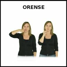 ORENSE - Signo