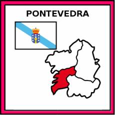 PONTEVEDRA - Pictograma (color)