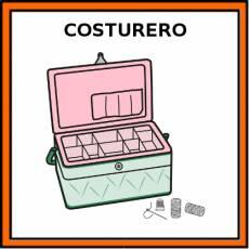 COSTURERO - Pictograma (color)