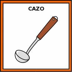 CAZO (DE SERVIR) - Pictograma (color)