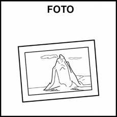 FOTO - Pictograma (blanco y negro)