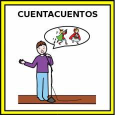 CUENTACUENTOS - Pictograma (color)
