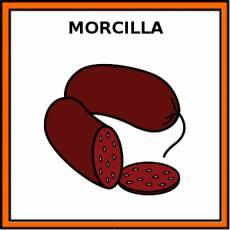 MORCILLA - Pictograma (color)