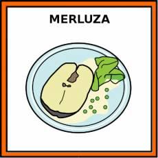 MERLUZA (ALIMENTO) - Pictograma (color)