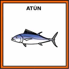 ATÚN (ANIMAL) - Pictograma (color)