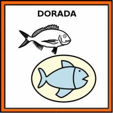 DORADA (ALIMENTO) - Pictograma (color)