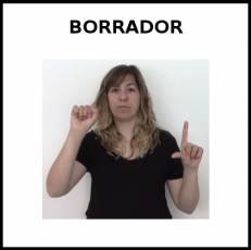 BORRADOR (PIZARRA) - Signo