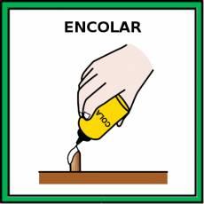 ENCOLAR - Pictograma (color)