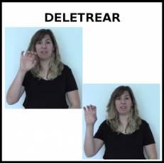 DELETREAR - Signo