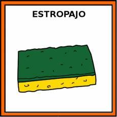 ESTROPAJO - Pictograma (color)