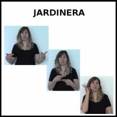 JARDINERA (PROFESIÓN) - Signo