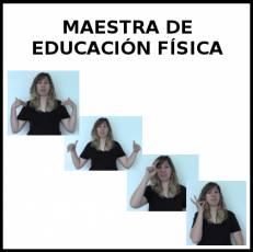MAESTRA DE EDUCACIÓN FÍSICA - Signo