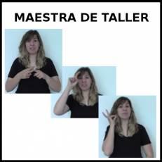 MAESTRA DE TALLER - Signo