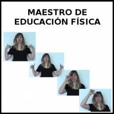 MAESTRO DE EDUCACIÓN FÍSICA - Signo