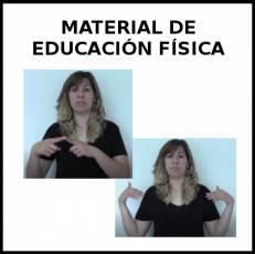 MATERIAL DE EDUCACIÓN FÍSICA - Signo