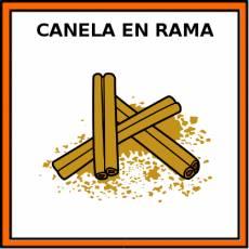 CANELA EN RAMA - Pictograma (color)
