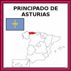 PRINCIPADO DE ASTURIAS - Pictograma (color)