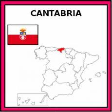 CANTABRIA (COMUNIDAD) - Pictograma (color)