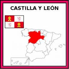 CASTILLA Y LEÓN - Pictograma (color)