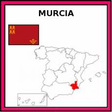 MURCIA (COMUNIDAD) - Pictograma (color)