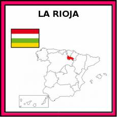 LA RIOJA (COMUNIDAD) - Pictograma (color)