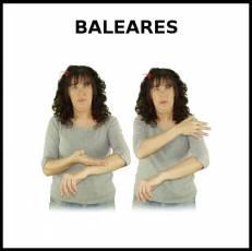 BALEARES - Signo